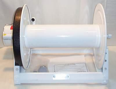 Hose reels e1500 series 12 volt elec rewind series hannay for 12 volt hose reel motor