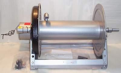 Hose reels e4000 12 volt dc electric reel hannay for 12 volt hose reel motor
