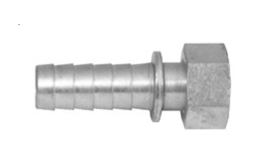 38946 SPRAY HOSE FITTING  3/4 HB Stem  x 3/4  Female GHT As Seen In...