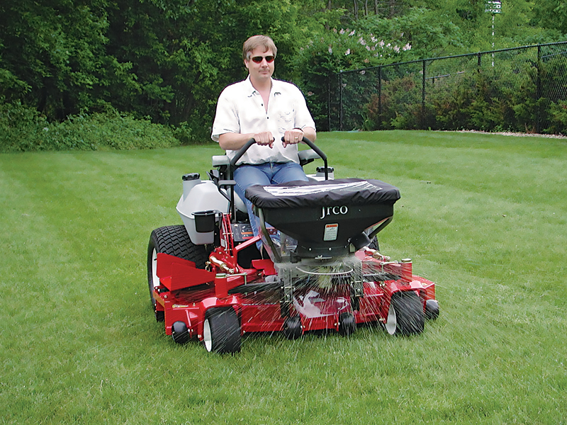 JRCO 503 ELECTRIC BROADCAST SPREADER As Seen In...