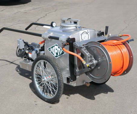 REARS  NIFTY  NURSERY  CART SPRAYERS (LESS  HOSE REEL ) As Seen In...
