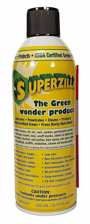 SUPERZILLA 300ML 10.14 FL OZ Made in USA As Seen In...